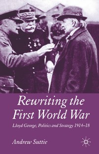 Cover Rewriting the First World War
