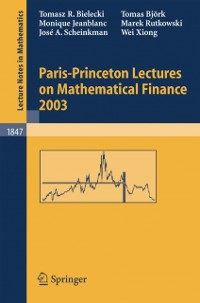 Cover Paris-Princeton Lectures on Mathematical Finance 2003