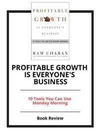 Cover Profitable Growth is Everyone's Business