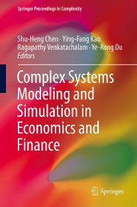 Cover Complex Systems Modeling and Simulation in Economics and Finance