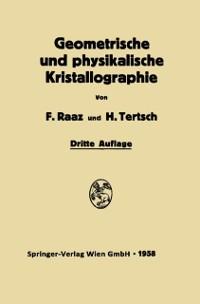 Cover Geometrische und physikalische Kristallographie