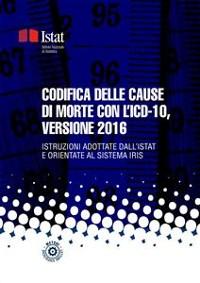 Cover Codifica delle cause di morte con l'ICD-10, versione 2016