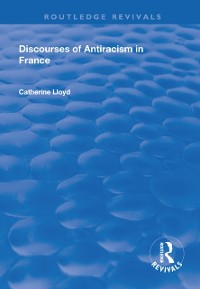 Cover Discourses of Antiracism in France