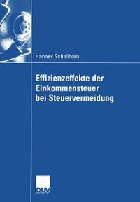 Cover Effizienzeffekte der Einkommensteuer bei Steuervermeidung
