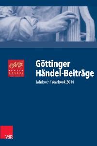 Cover Göttinger Händel-Beiträge, Band 15