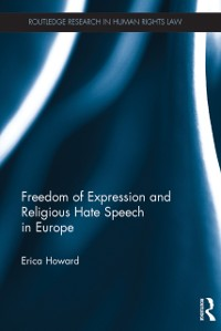 Cover Freedom of Expression and Religious Hate Speech in Europe