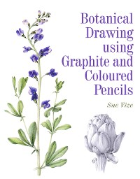 Cover Botanical Drawing using Graphite and Coloured Pencils