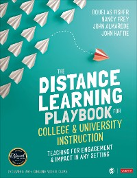 Cover The Distance Learning Playbook for College and University Instruction