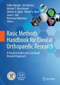Cover Basic Methods Handbook for Clinical Orthopaedic Research