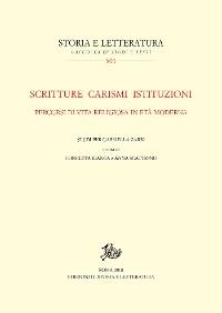 Cover Scritturecarismiistituzioni.