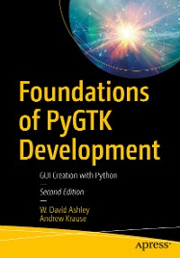 Cover Foundations of PyGTK Development