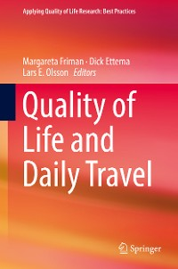 Cover Quality of Life and Daily Travel