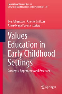 Cover Values Education in Early Childhood Settings