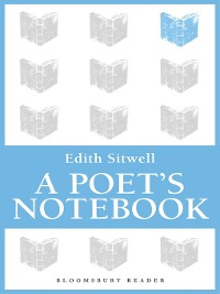 Cover A Poet's Notebook