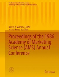 Cover Proceedings of the 1986 Academy of Marketing Science (AMS) Annual Conference