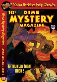 Cover Dime Mystery Magazine - Arthur Leo Zagat