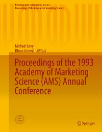 Cover Proceedings of the 1993 Academy of Marketing Science (AMS) Annual Conference