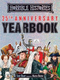 Cover Horrible Histories 25th Anniversary Yearbook