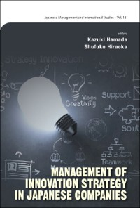 Cover Management Of Innovation Strategy In Japanese Companies