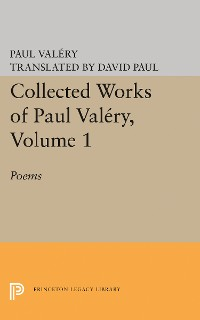 Cover Collected Works of Paul Valery, Volume 1