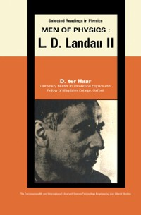 Cover Men of Physics: L.D. Landau