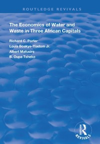 Cover Economics of Water and Waste in Three African Capitals