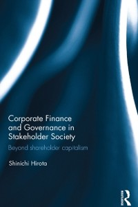 Cover Corporate Finance and Governance in Stakeholder Society
