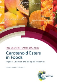 Cover Carotenoid Esters in Foods