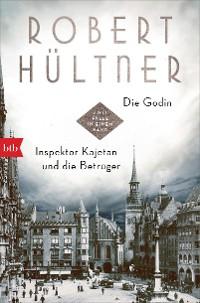 Cover Die Godin - Inspektor Kajetan und die Betrüger