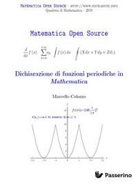 Cover Dichiarazione di funzioni periodiche in Mathematica
