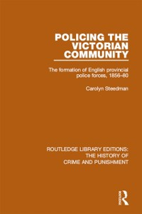 Cover Policing the Victorian Community