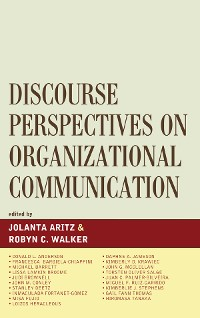 Cover Discourse Perspectives on Organizational Communication