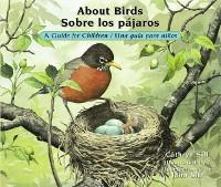 Cover About Birds / Sobre los pajaros