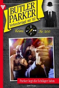 Cover Butler Parker 200 – Kriminalroman