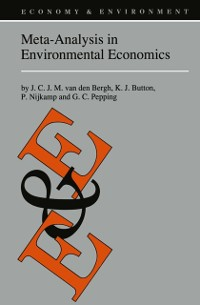 Cover Meta-Analysis in Environmental Economics