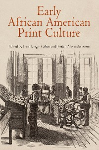 Cover Early African American Print Culture