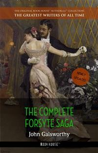 Cover John Galsworthy: The Complete Forsyte Saga