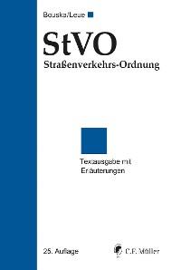 Cover StVO Straßenverkehrs-Ordnung