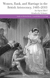 Cover Women, Rank, and Marriage in the British Aristocracy, 1485-2000