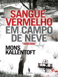 Cover Sangue Vermelho em Campo de Neve