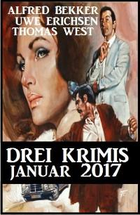 Cover Drei Krimis - Januar 2017