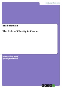 Cover The Role of Obesity in Cancer