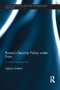 Cover Russia's Security Policy under Putin