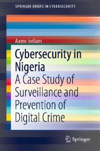 Cover Cybersecurity in Nigeria