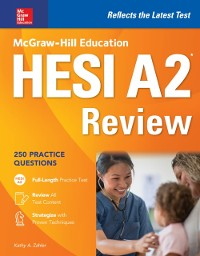 Cover McGraw-Hill Education HESI A2 Review