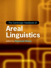 Cover The Cambridge Handbook of Areal Linguistics