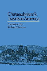 Cover Chateaubriand's Travels in America