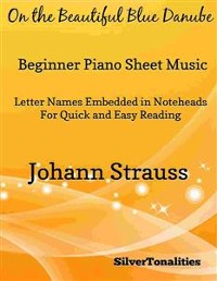 Cover On the Beautiful Blue Danube Beginner Piano Sheet Music