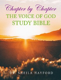 Cover Chapter by Chapter The Voice of God Study Bible