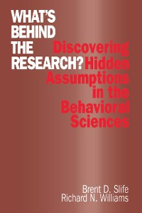 Cover What's Behind the Research?